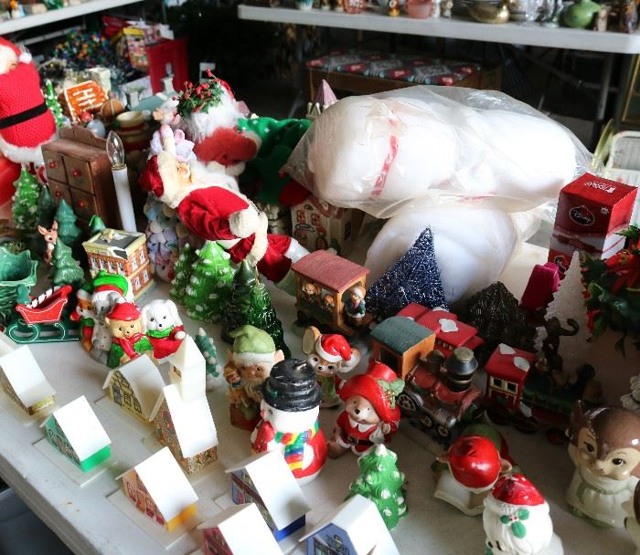 Lots of vintage christmas