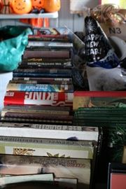 Books! Lots of Stephen King and lots of old books