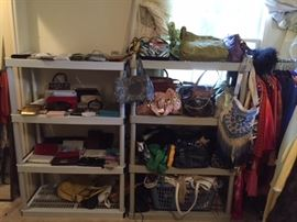 Purses and purses...most of them never used, Sharriff...