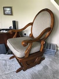 Solid Wood Glider/Rocker