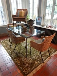 TABLES AND RUGS