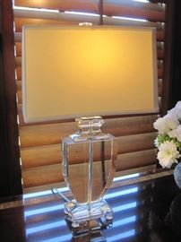 Crystal Lamp.