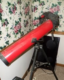 Tasco 140 power reflection telescope