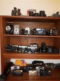 some of the large camera collection