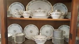 Noritake Laurette.  Service for 12