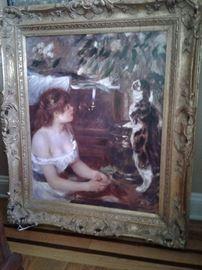 Large Renoir print