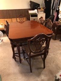 excellent antique dining set
