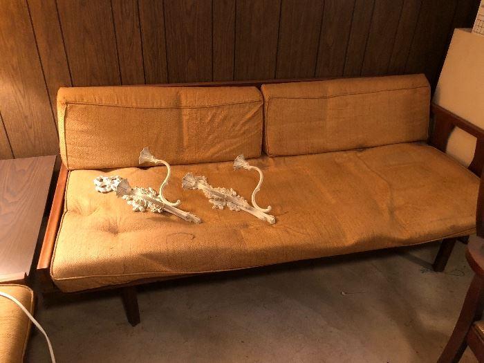 mid century corner sofas