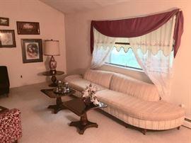 Retro vintage living room furniture & accessories