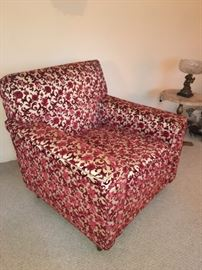 Cut velvet armchair in great condition