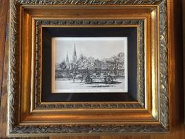 "Signed ""Jackson Square"" by Cherie Rouquette"