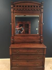 Gorgeous Chest with Beveled Mirror