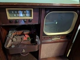 $175  Capehart TV with cabinet