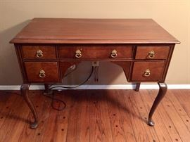 Very Nice Wood Desk and Chair