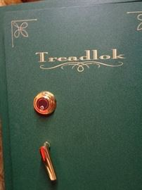 Large Treadlok gun safe w/key & combination … what a great Christmas/anniversary gift