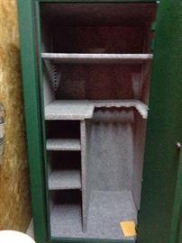 inside of gun safe