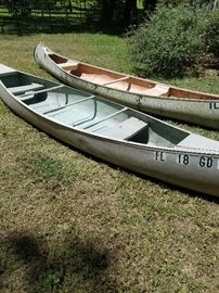 14' Aluminum Canoe