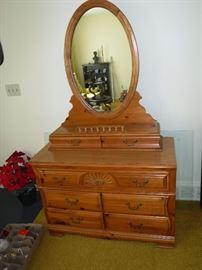 Nice Dresser with Mirror