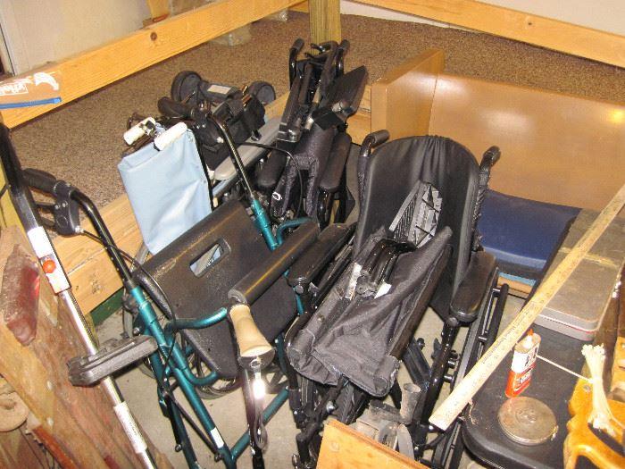 Wheel Chairs & Walkers