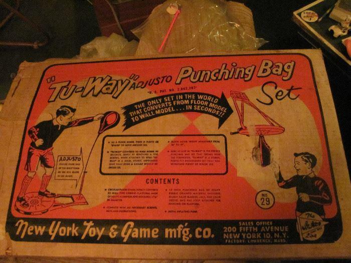 Tu-Way Punching Bag Set