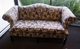 "Vanguard Upholstered Love Seat, 36""H x 76""W x 32""D"