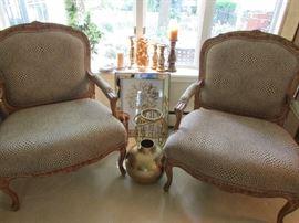 2 Bergere Chairs Century