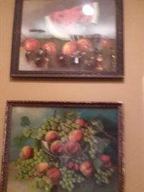 Glass framed imported art. BEST offer takes it thru our silent auction . Highest bid to date  is $ 25.00 =  Beat the bid and YOU own it, just send a text bid to 713-249-4777.