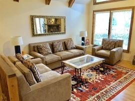 Rug used for staging