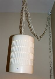 MCM Hanging pendant light