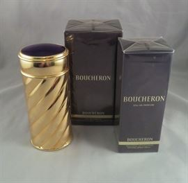 Rare Boucheron Modele Joaillerie Perfume Carrier & Sprayer with (2) NEVER USED/SEALED Boucheron by Boucheron Refill Cartridges