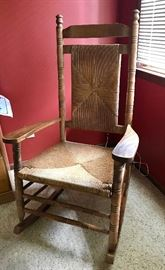 Oversized rocking chair ! Cracker Barrel collectible