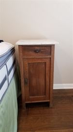 One of two matching night stands