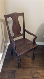 Nice wood chair
