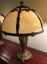 Beautiful Slag Tiffany style lamp