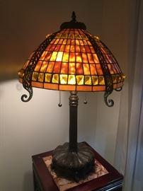 Tiffany style vintage lamp