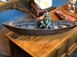 Fisherman in Fishing Boat
