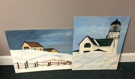 2 Winter Scenes Signed by J M Ivancevic        http://www.ctonlineauctions.com/detail.asp?id=746652