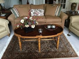 Living room group. Most furniture is from Ethan Allen