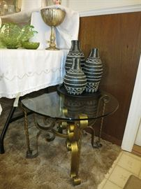 Nice Round Accent Table
