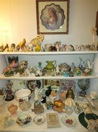 Pretty Tschotskes And Elephant Collection!