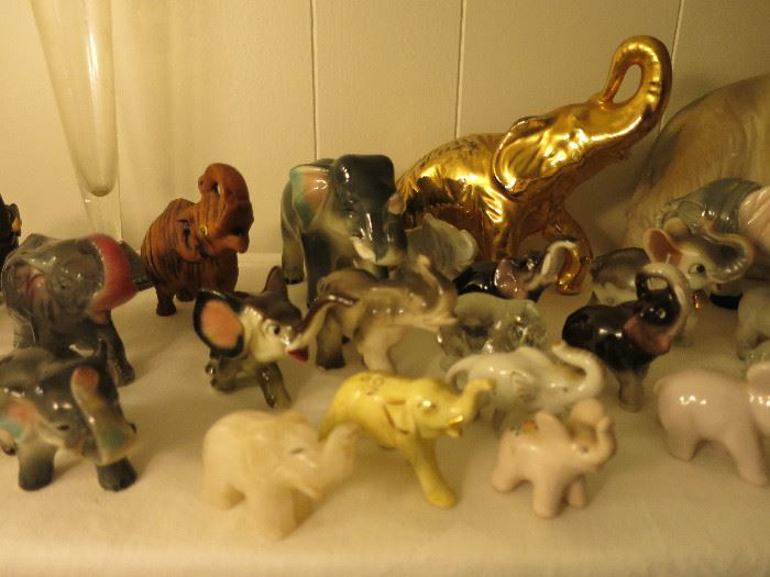 A Closer Look Of The Elephant Collection