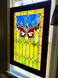 56x38 stained glass window