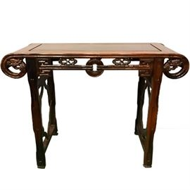 Asian Hardwood Table PC1A