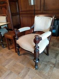 The other antique armchairs