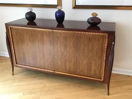 """Baker inlaid cabinet 55"""" x 18"""""""