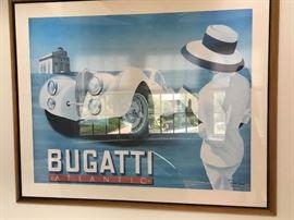Bugatti signed poster $650