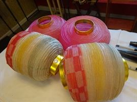 1960's paper lanterns
