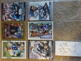 troy airman - Emmitt Smith and more signed baseball cards
