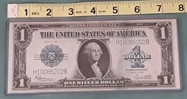 Large Silver Certificate