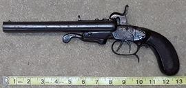 1800's Double Barrel Pistol